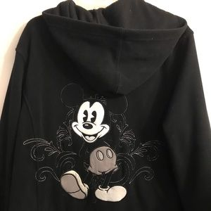 Disneyland black 1XL Mickey jacket (backside)